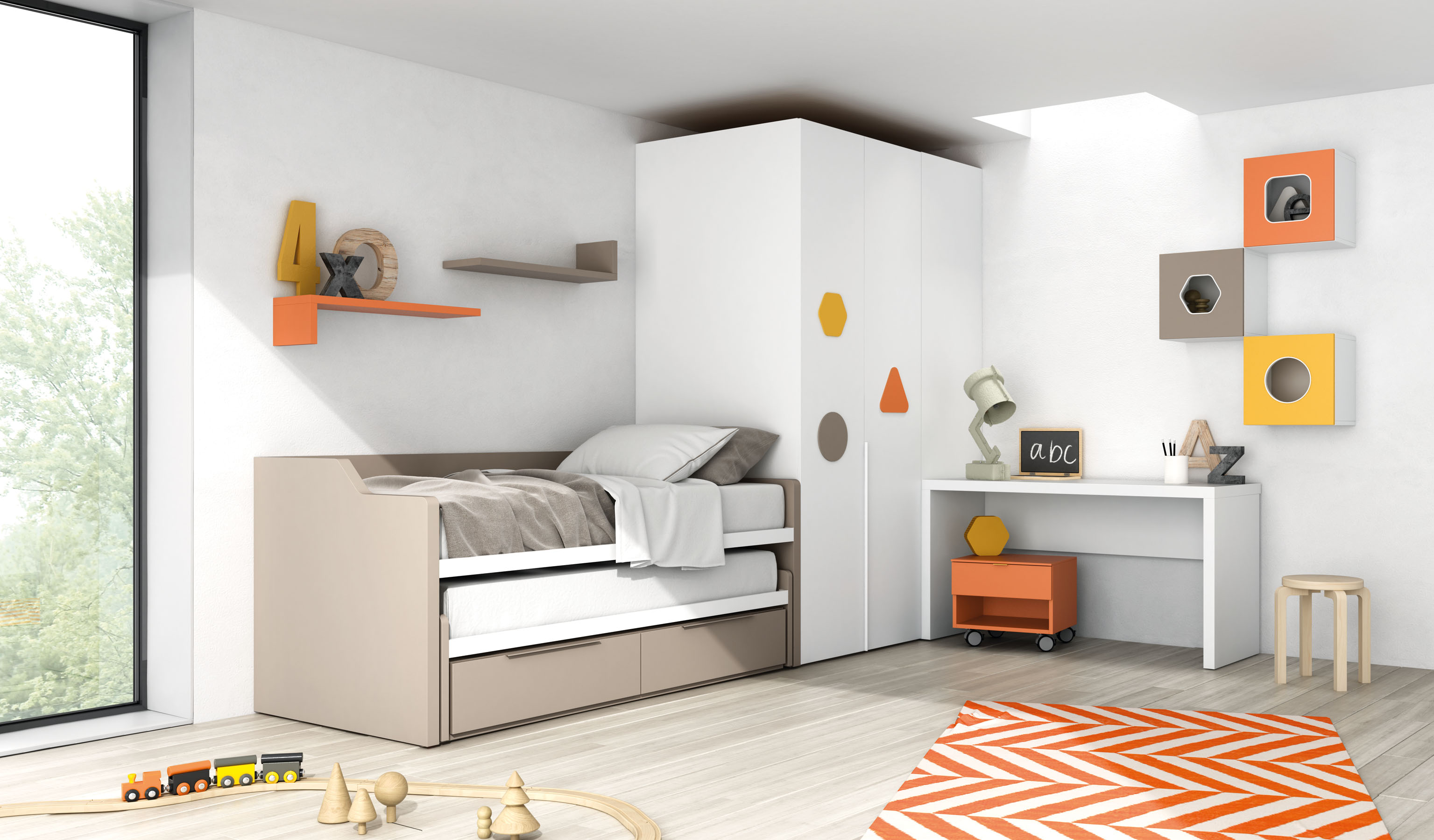 Compactos camas nido qb tegar for Camas compactas precios