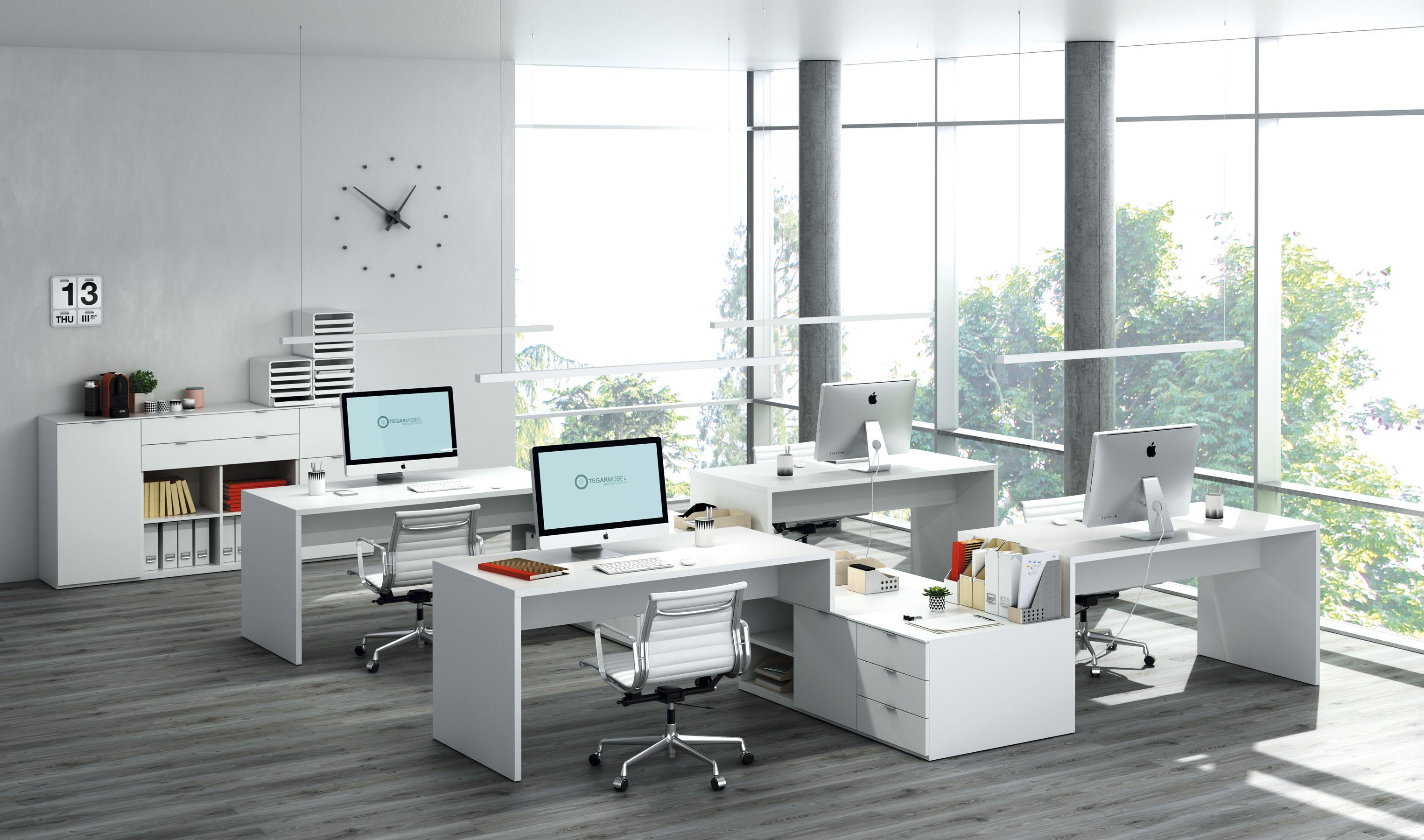 Oficinas qb tegar for Imagenes de oficinas de lujo