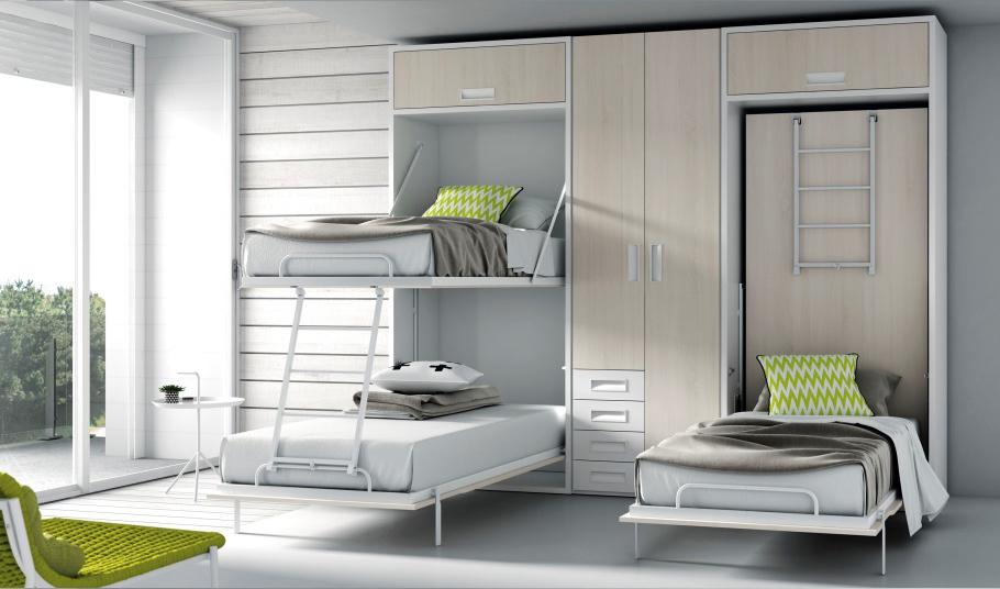 Camas con sistemas abatibles - Sistema cama abatible ...